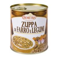 ZUPPA DI FARRO E LEGUMI...